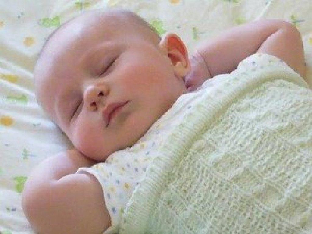 bebe dormir